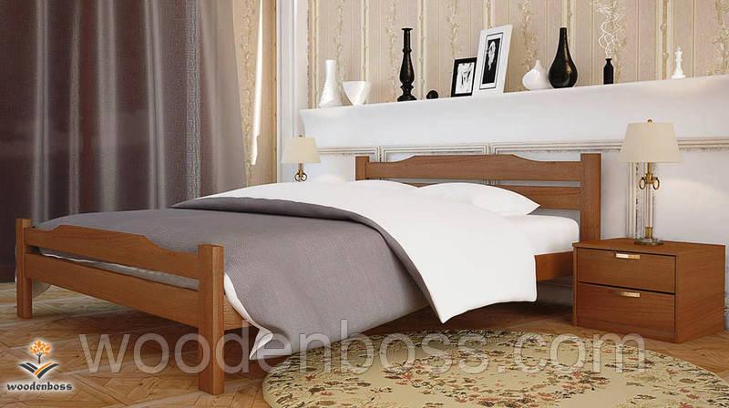 """Кровать односпальная  от """"Wooden Вoss"""" Сафира (спальное место - 90х190/200)"""