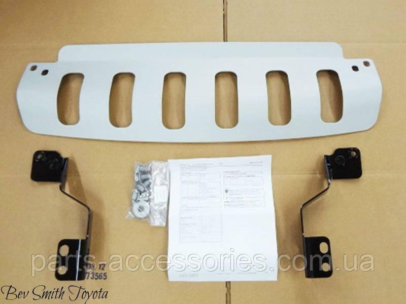 Алюминиевая накладка защита под бампер Toyota Tundra 2003-2007 новая оригинал
