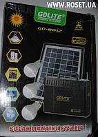 Портативный аккумулятор с солнечной панелью GDLite GD-8012 FM Radio