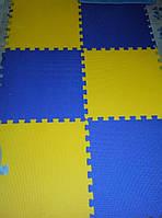 Мягкое напольное покрытие ( большие пазлы ) 12 шт 2,8 кв.м