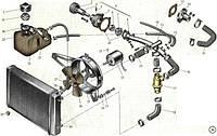 Двигатель и система охлаждения.