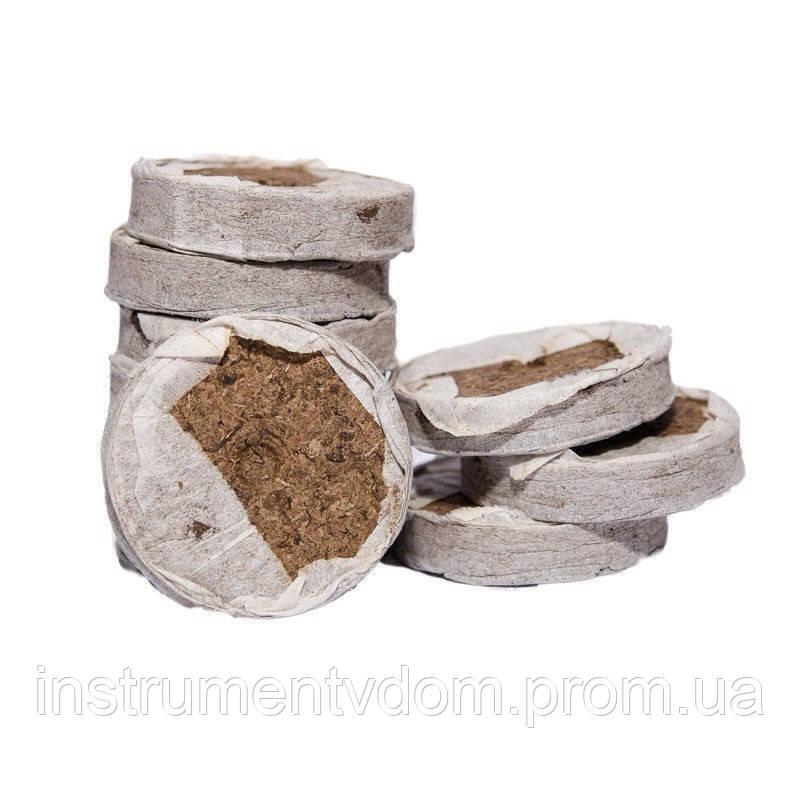Торфяные таблетки для рассады диаметром 41 мм, Украина (упаковка 100 шт)