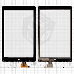Сенсорный экран (touchscreen) для Dell Venue 8, черный, оригинал