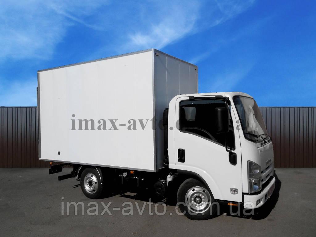 Автомобиль грузовой ISUZU NLR 85 AL с промтоварным фургоном