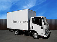 Автомобиль грузовой ISUZU NLR 85 AL с промтоварным фургоном, фото 1