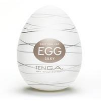Мастурбатор Tenga Egg Silky Нежный шелк