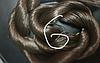 "Волос для кукол, синтетика. Модель - ""Карина  6"".  На трессе"