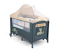 Кровать-манеж Milly Mally Mirage Deluxe 2015 (цвет - blue toys)