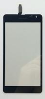 Оригинальный тачскрин / сенсор (сенсорное стекло) для Microsoft Lumia 535 (черный, CT2C1607FPC-A1-E) + СКОТЧ