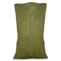 Мешок полипропиленовый, Украина, зеленый, 55х105 см, 50 кг