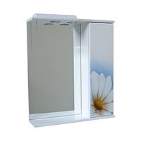 Зеркало для ванной с подсветкой Ромашка голубая-60( левое и правое)