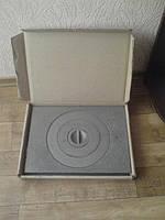 Плита чугунная 2-х конфорочная 400х700 (сборная)