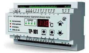 ТР-101 универсальное температурное реле, 4 независимых канала