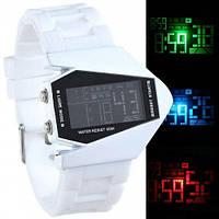 Наручные стильные часы Стелс; цвет: белый