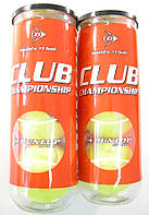 Мячи для большого тенниса DUNLOP CLUB CHAMPIONSHIP  24442-01, фото 1