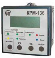 КРМ-136контроллер реактивной мощности 3-фазный, 6-ступенчатый