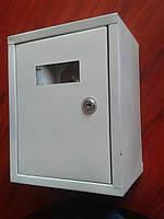 Шкаф металлический для газового счетчика с замком