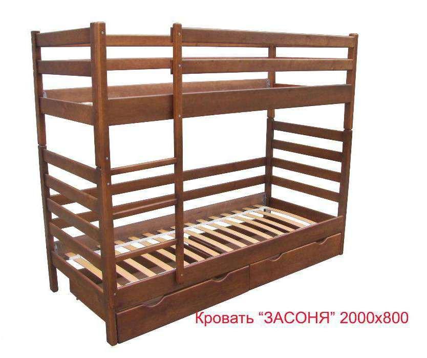 Кровать 2-х ярусная Засоня