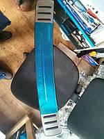 Хром накладка на задний бампер на Субаро Форестер с 02-08 (нерж.) оригинал.