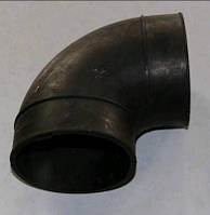 Переходник фильтра воздушного МАЗ (шланг угловой) большой d=125 Беларусь 5551-1109375