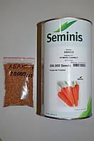 Семена моркови Абако F1, Seminis (Нидерланды), упаковка 20 000 (1,4 - 1,6) семян