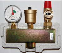 Группа безопасности котла WATTS KSG 30/ISO 2 до 50 кВт в изоляции