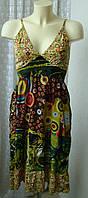Платье женское летнее сарафан миди хлопок Индия р.40-44 5538 от Chek-Anka