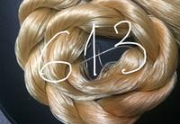 "Волос для кукол, синтетика. Модель - ""Карина  613"".  На трессе"