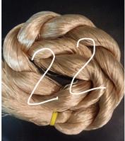 "Волос для кукол, синтетика. Модель - ""Карина  22"".  На трессе"