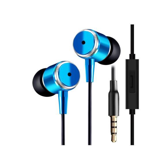 Наушники JMF Stereo Супер Бас (Синие)