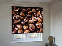 Рулонные шторы зерна кофе