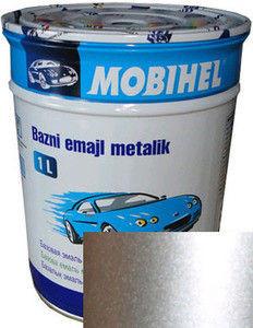 Автокраска металлик Сильвер HELIOS(Mobihel) BC  1л