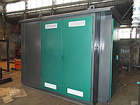 Комплектная трансформаторная подстанция КТПпк 630/10(6)/0.4 кВа (проходная с кабельным вводом)