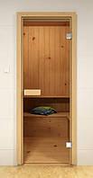 Стеклянная дверь для сауны и бани ALDO 590х1890 мм, фото 1