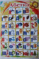 Абетка-плакат украинский 640*450