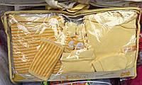 Выписка с роддома 7 предметов желтый
