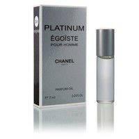 Масленый мини парфюм с феромонами Chanel Egoiste Platinum (Шанель Эгоист Платинум) 7 мл.