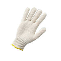 Перчатки рабочие без ПВХ, белые (554) ТМ DOLONI / Украина