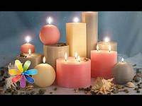 Декоративные/чайные/столовые/хозяйственные свечи