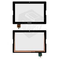 Сенсорный экран (touchscreen) для Lenovo IdeaTab A7600, черный, оригинал