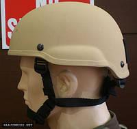 Каска, шлем страйкбольный MICH 2002 Тан