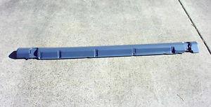 Накладка левого порога пластиковая грунтованная OPEL OMEGA-B/-C после 2000 года (после рестайлинга)