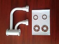 Адаптер боковой (переходник) для замены роторного счетчика газа на мембранный
