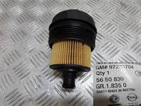 Корпус (крышка) масляного фильтра (вместе с фильтром) 5650830 97223704 Y17DT Z17DTL Z17DTH OPEL ASTRA-G/-H CORSA-C COMBO MERIVA-A 97223206