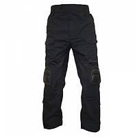 Брюки TMC CP Gen2 style Tactical Pants with Pad set Black, фото 1