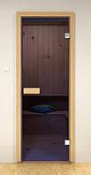 Стеклянная дверь для сауны и бани ALDO 590х1890 мм