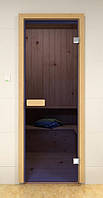 Стеклянная дверь для сауны и бани ALDO 690х1890 мм