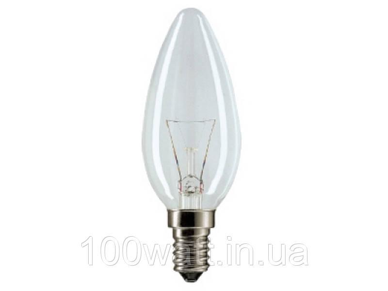 Лампа накаливания свеча ДС 60 Вт Е14 Искра