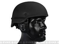 Каска, шлем страйкбольный MICH 2002 Черный