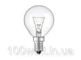 Лампа накаливания шарик ДШ 40 Вт Е14 WATC индивидуальная упаковка